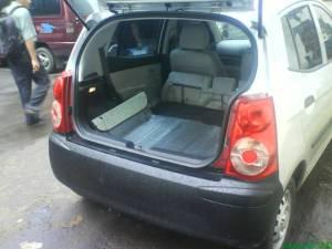 Picanto dengan kursi belakang dilipat